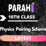 Physics 10th Class Pairing Scheme