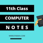 1st Year Computer Notes   ICS Part 1 Computer Science Notes
