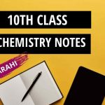 Chemistry Notes for Class 10