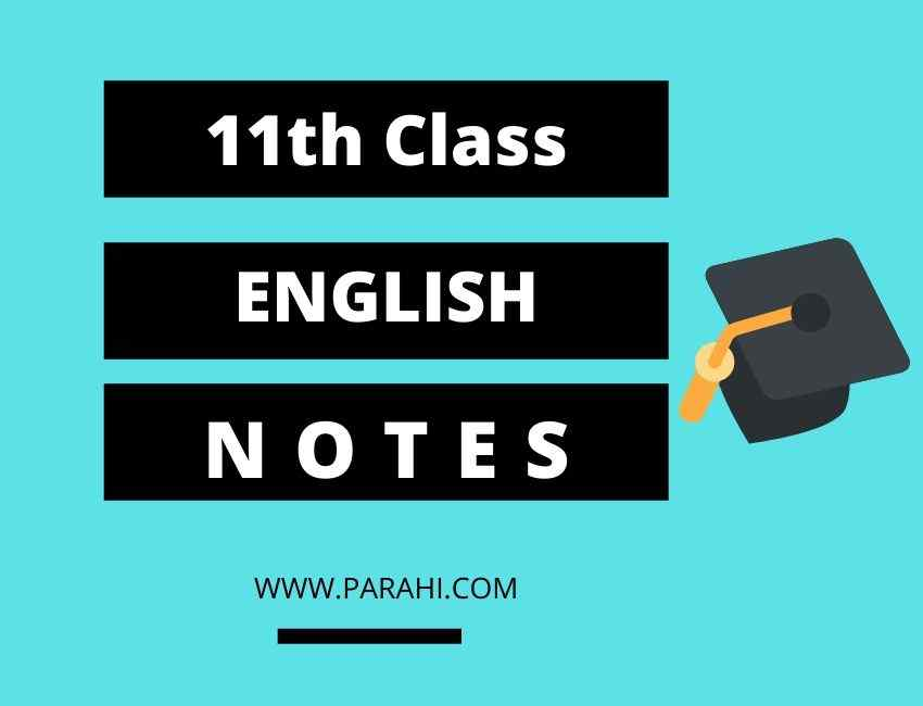 1st Year English Notes