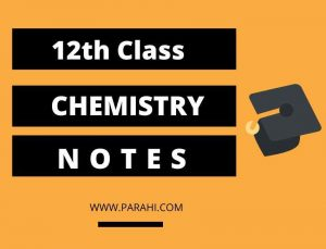 2nd Year Chemistry Notes