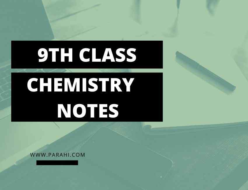Chemistry Notes for Class 9