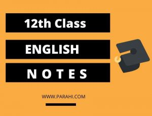 2nd Year English Notes